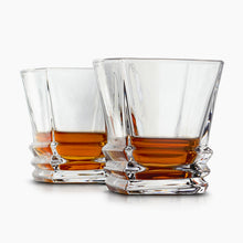 Load image into Gallery viewer, Van Daemon - 'Hobart' Whiskey Glasses - Lead Free Crystal. Set of 2 Tumblers for Liquor.