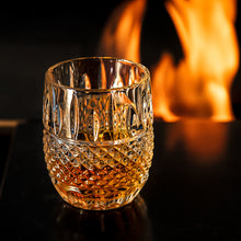 Load image into Gallery viewer, Whiskey Glasses Set of 2 - Van Daemon 'Crystal Cask'. Lead Free Crystal. Tumblers for Liquor.