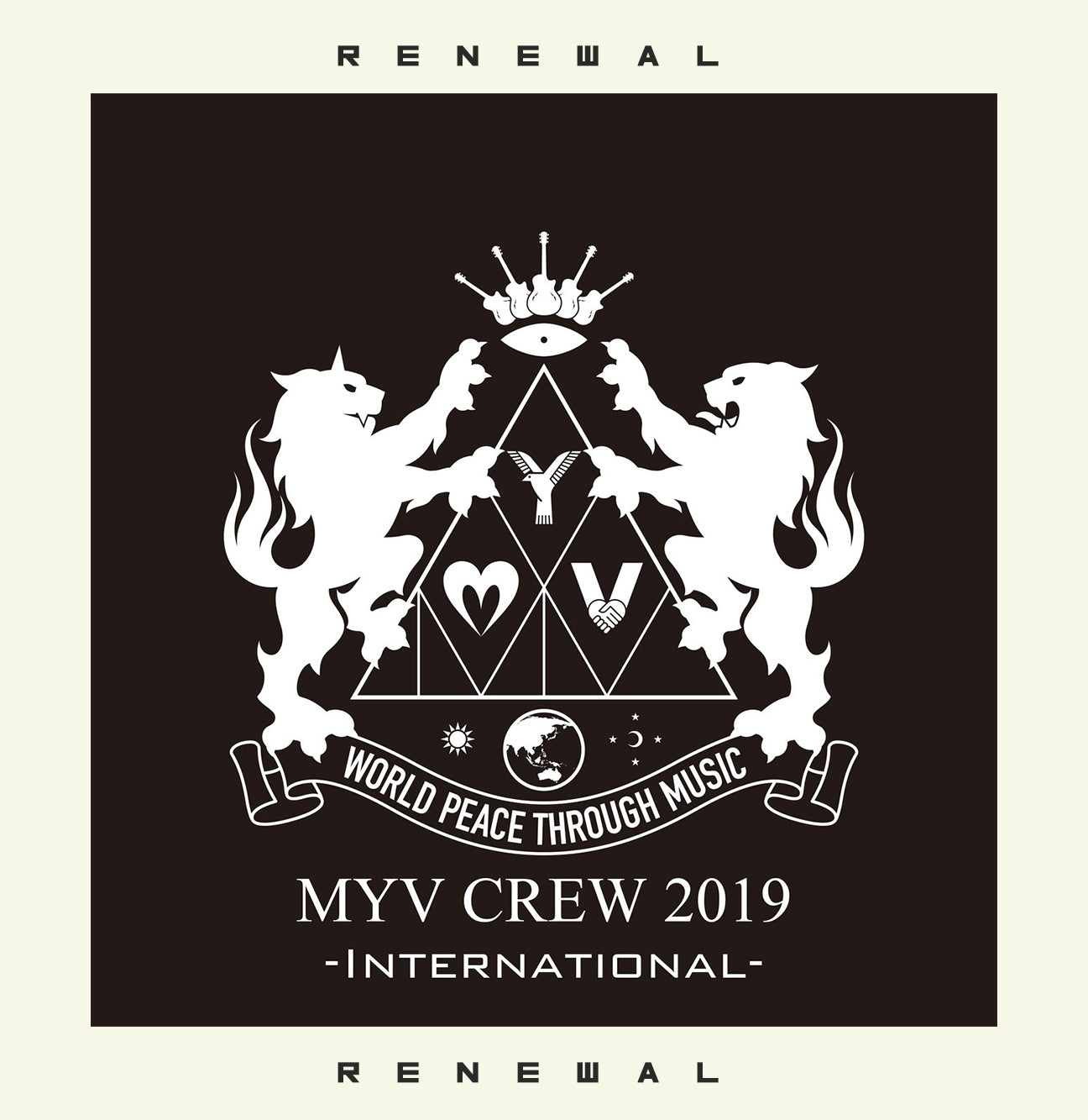 "◆International◆ MIYAVI Fan Club ""MYV CREW"" 2019 Renewal Membership"