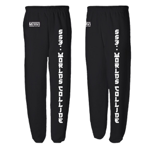 Kanji Worlds Collide Sweatpants (Unisex) - MIYAVI