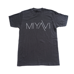 Black and White Logo Tee - MIYAVI
