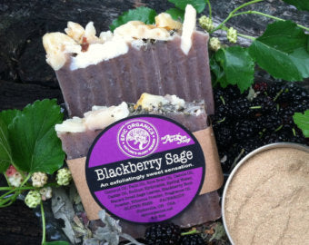 Blackberry Sage Soap Bar - Epic Soap Company