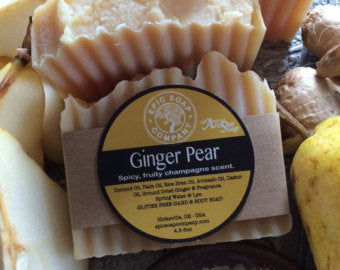 Ginger Pear Soap Bar - Epic Soap Company