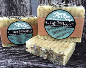 Sage Eucalyptus Soap Bar - Epic Soap Company