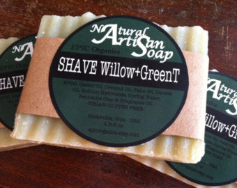 Shave Willow Soap Bar - Epic Soap Company