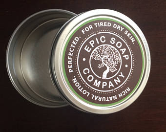Travel Tin for Mini Lotion Bar - Epic Soap Company