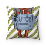 Olive Fashion Bag Pillow