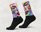 I Am Woman Custom Socks