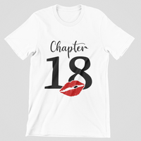 Chapter Birthday Age Tee! Birthday Shirts!!! Ages 10-89 Available