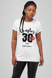 Birthday Queen Chapters Tee! Birthday Shirts!!! Ages 20, 30 , 40, 50, 60, 70, 80, 90 Available