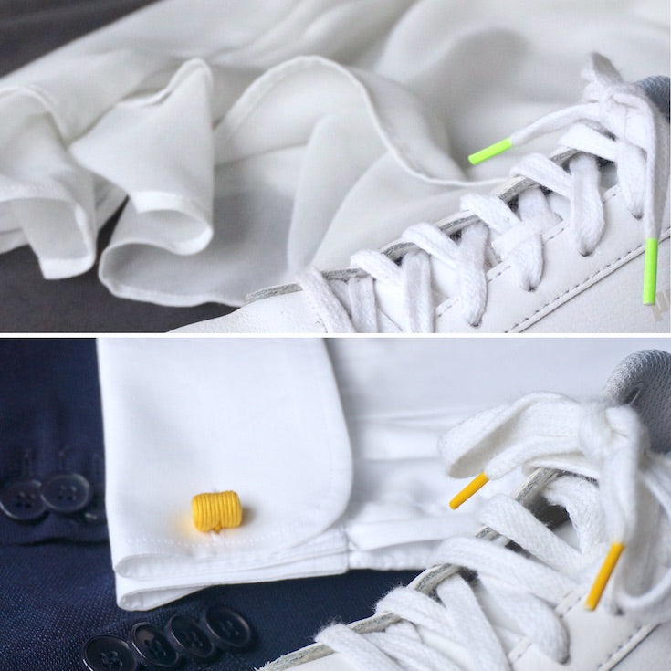 Wedding with sneakers or classic, Petit détail has what you need