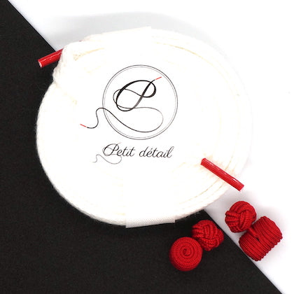 Set city Blanc & Rouge - Lacets Made in France - Petit-détail.com