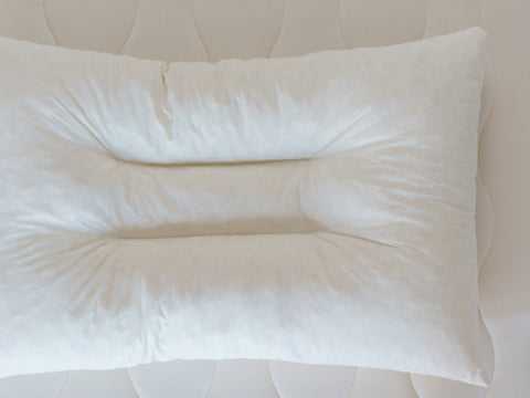 Contour Organic Shredded Rubber Pillow