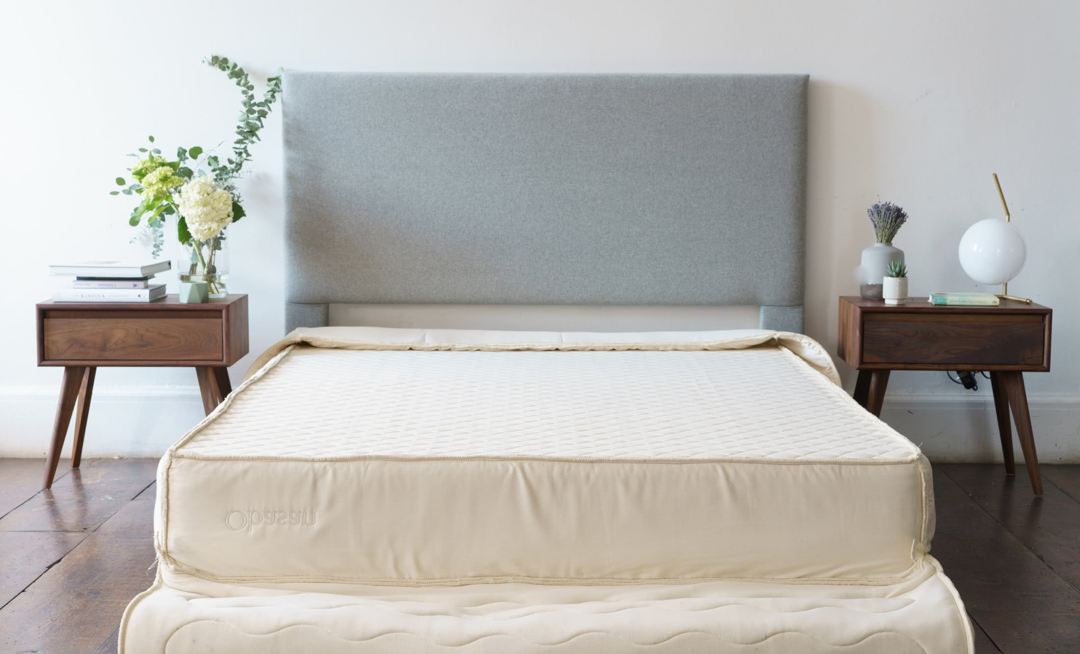 An Obasan bed in a stylish room