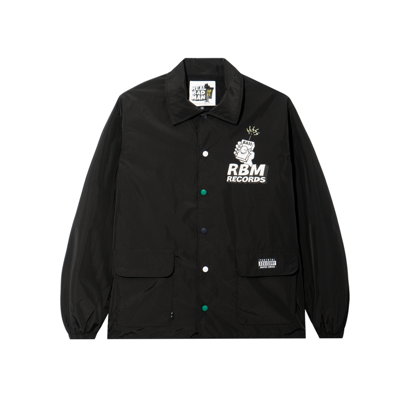 RBM RECORDS COACHES JACKET
