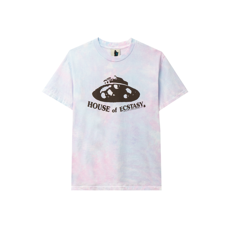 HOUSE OF ECSTASY TIE DYE TEE