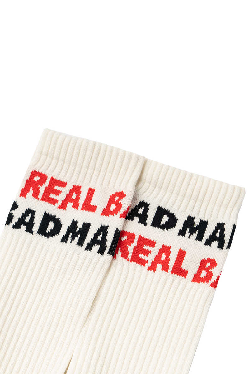 REAL BAD SPELLOUT SOCKS