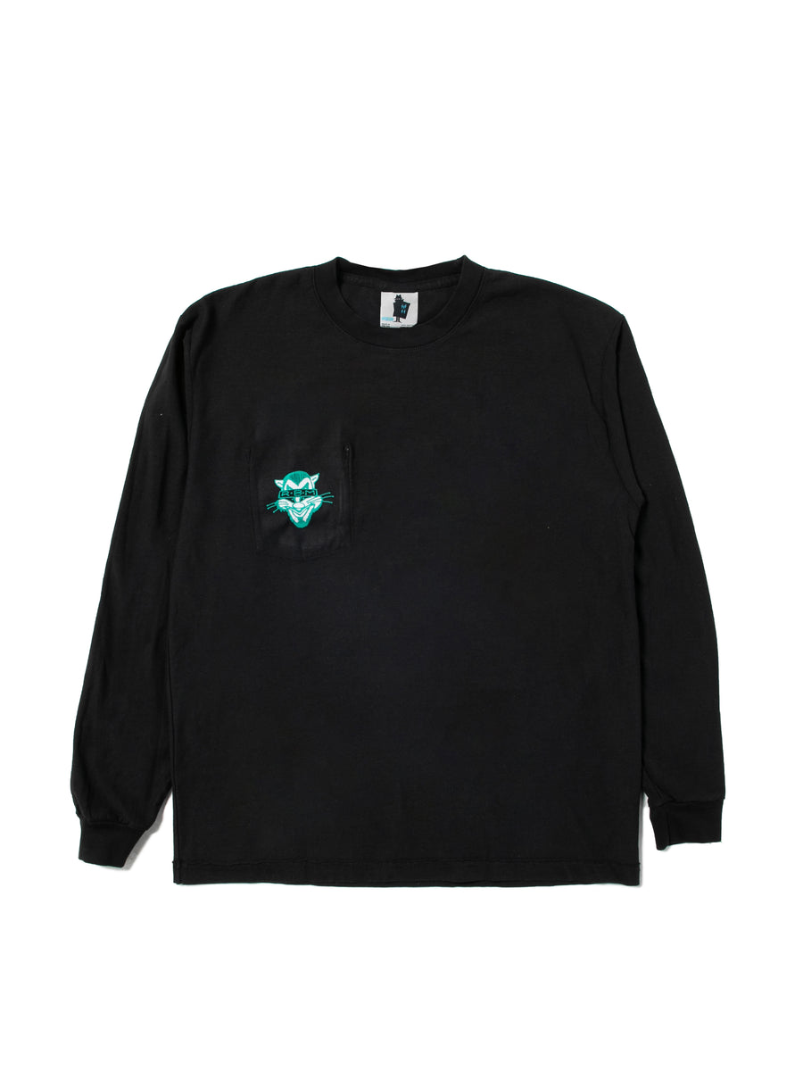 DONT MESS WITH THE ROBOT DOG REVERSIBLE LS TEE