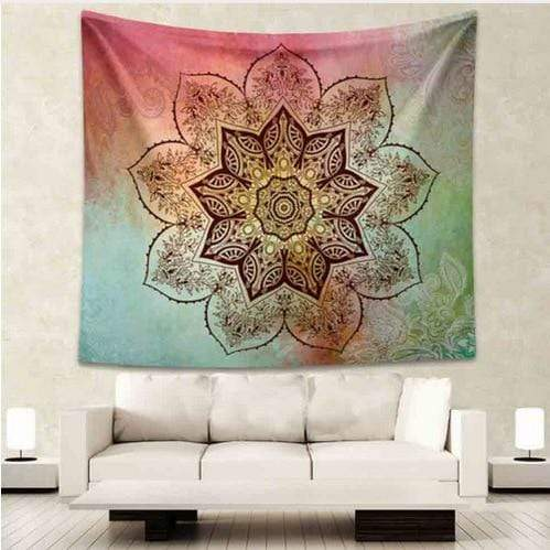 Stay Boho 210X150cm Floral Bohemian Tapestry