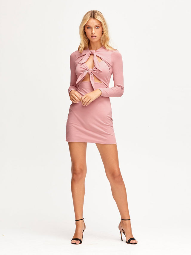 REAL THING MINI DRESS
