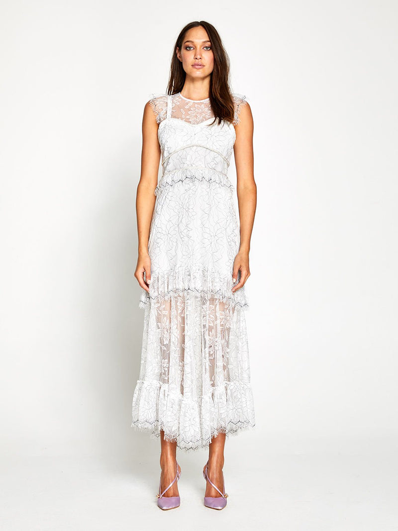 I FOUND YOU MIDI DRESS