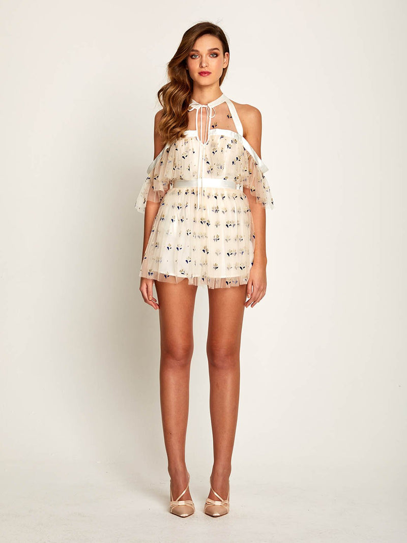 COWBOY TEARS PLAYSUIT