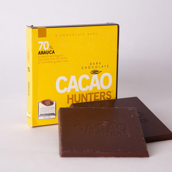 Chocolate Colombiano de Arauca 70%