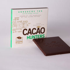 Barra de Chocolate  Cacao Hunters - Heirloom Arhuacos 72%