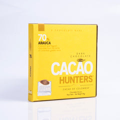 Barra de Chocolate Cacao Hunters Arauca 70%