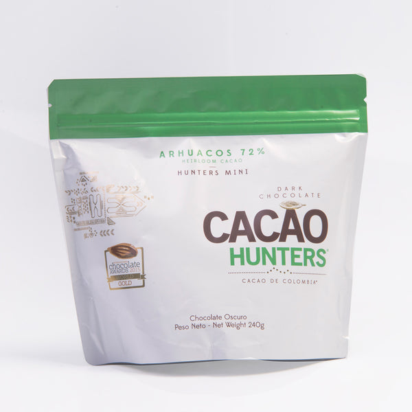 Mini Hunters Arhuacos 72% - Heirloom Cacao