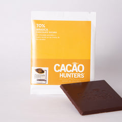 Barra de Chocolate Cacao Hunters - Arauca 70%