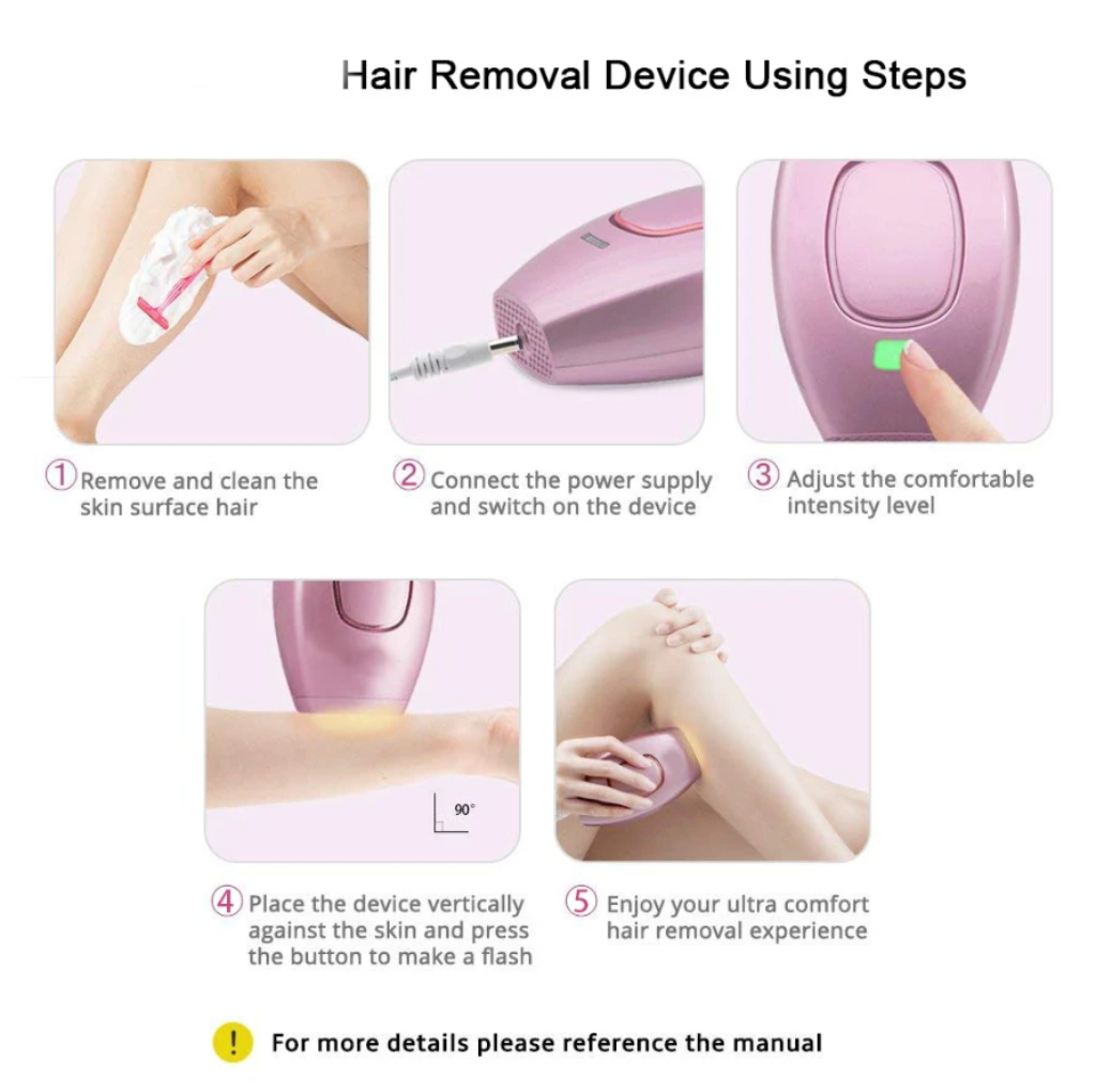 Beautystar™ Laser Hair Remover
