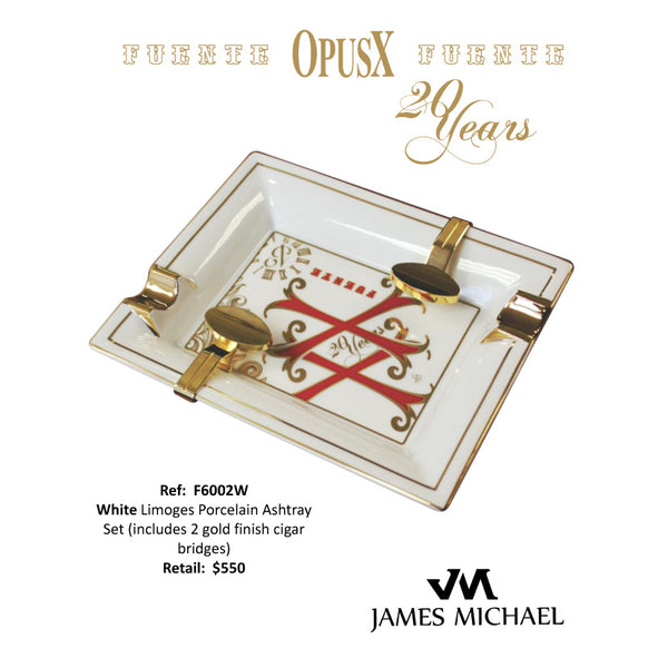 JAMES MICHAEL OPUS X ASHTRAY [White]