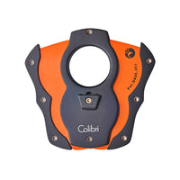 colibri-cut-color-coated-blade-cigar-cutter-orange-open