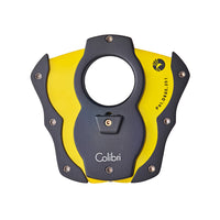colibri-cut-color-coated-blade-cigar-cutter-yellow-open