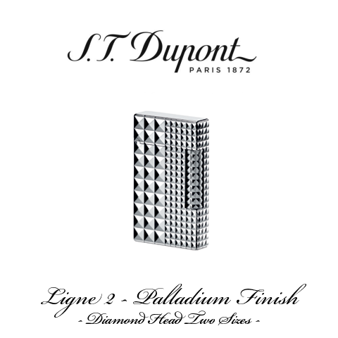 S.T. DUPONT LIGNE 2  [Palladium Finish]