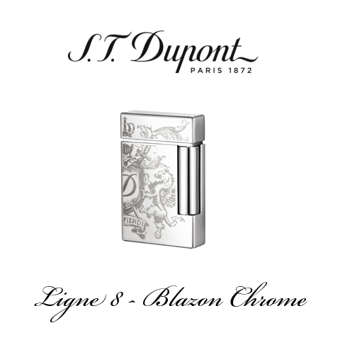 S.T. DUPONT LIGNE 8  [Blazon Chrome]