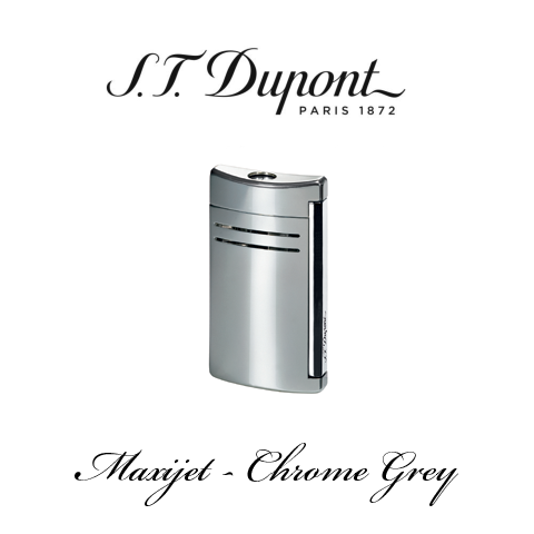 S.T. DUPONT MAXIJET  [Chrome Grey]