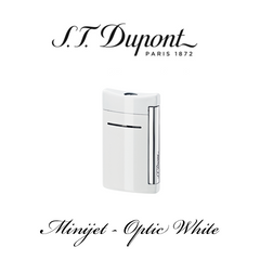 S.T. DUPONT MINIJET  [Optic White]