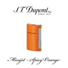 S.T. DUPONT MINIJET  [Spicy Orange]