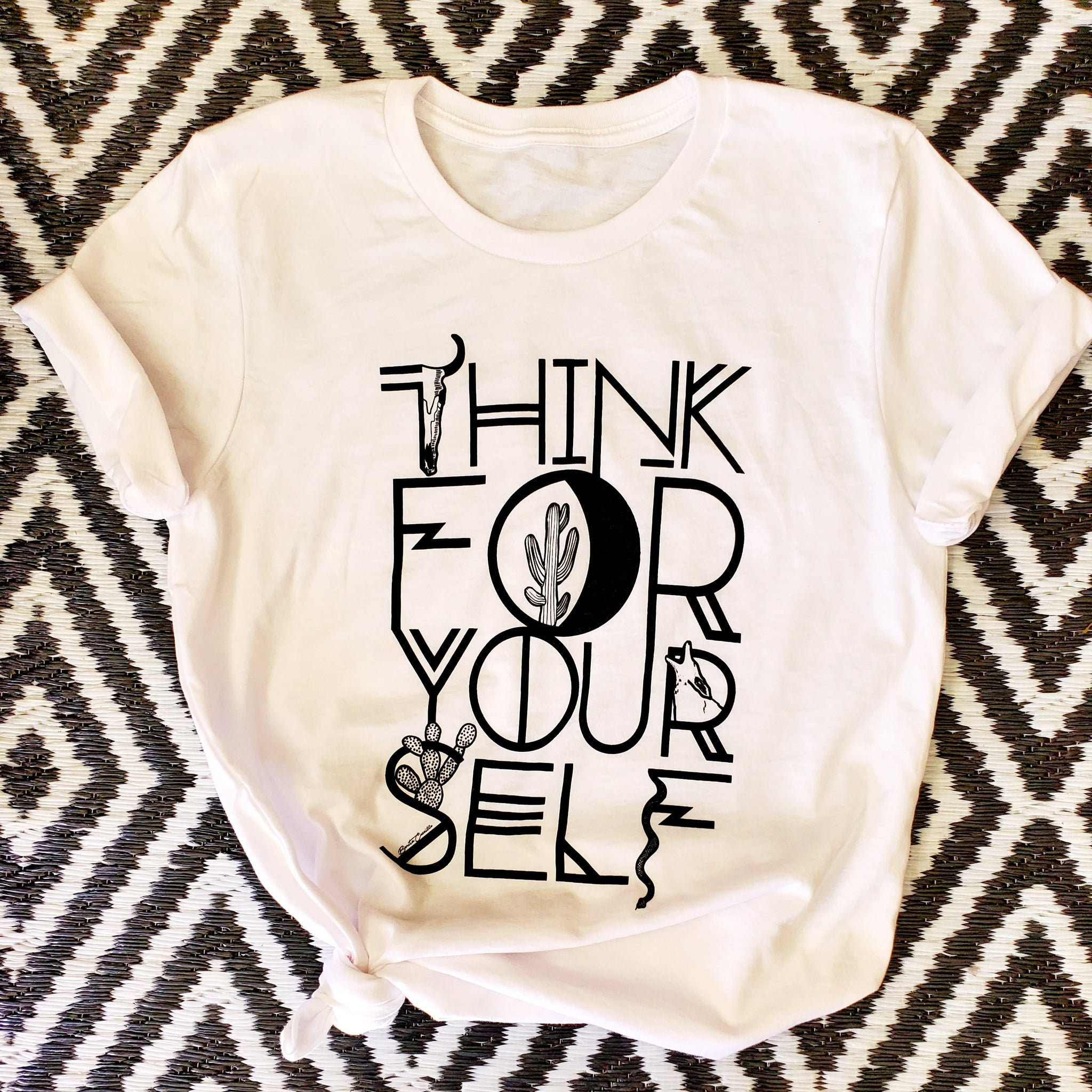 The Free Thinker Tee {2 Colors}