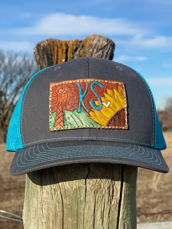 Kansas Patch Trucker Hat