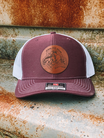 Cold Backed Before Coffee Trucker Hat {2 colors}