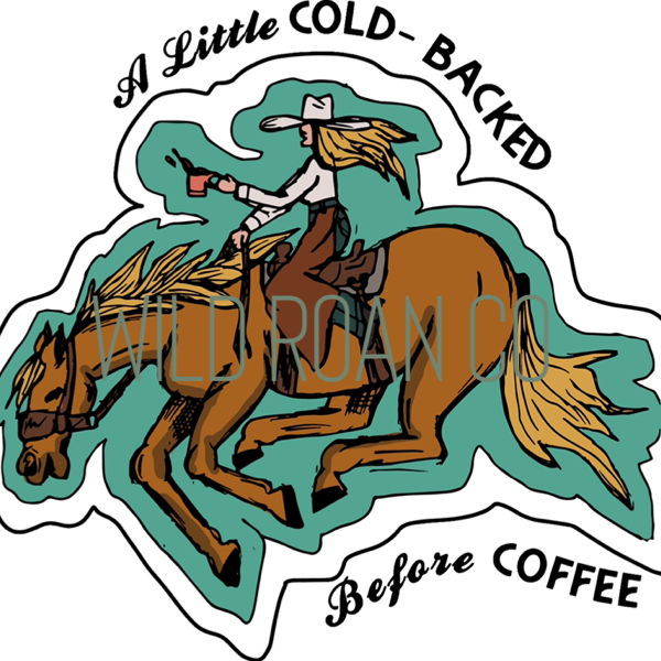 Cold Backed Before Coffee tee
