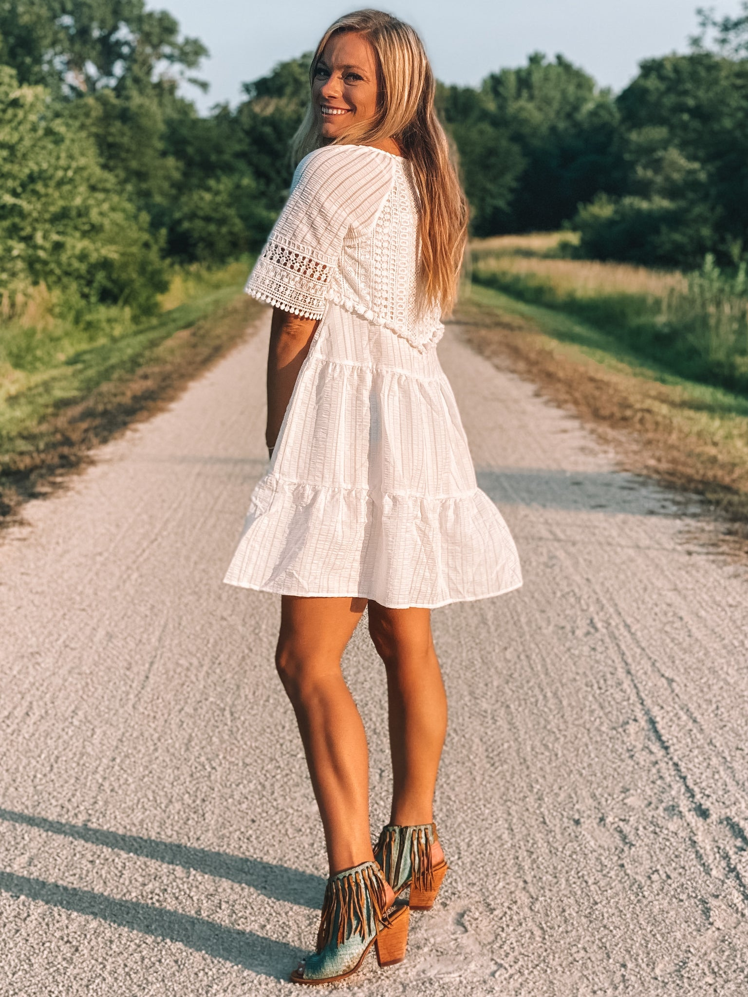 Lane Crochet Dress