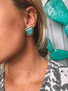 Chambers Kingman Turquoise Earrings
