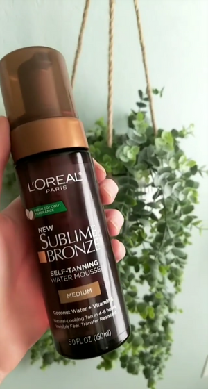 L'oreal Sublime Bronze Water Mousse