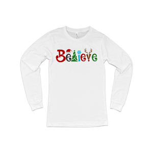 Believe in Christmas LS T-Shirt