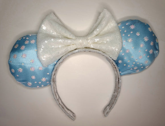 Elsa Inspired Minnie Ears