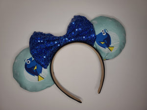 Dory Inspired Minnie Ears